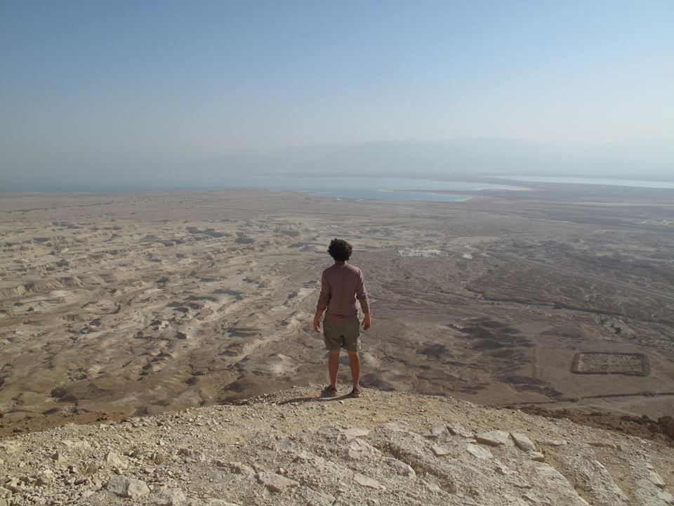 Hiking Near Masada and Being Watched