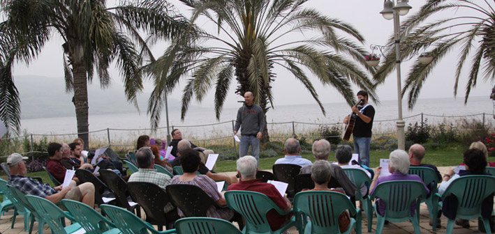 Worship by the Sea of Galilee